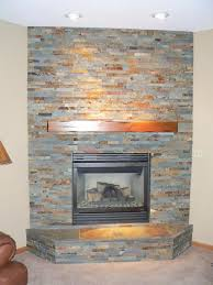 fireplace granite hearth stone fireplaces design cool stack stone fireplace