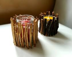Diy Candle Holders 8 Easy Diy Wood Candle Holders For Some Rustic Warmth This Fall