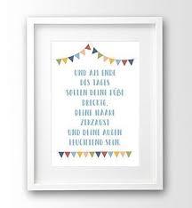 Spruch Kinder Bild Ungerahmt A4 Wimpel Geschenk Geburt