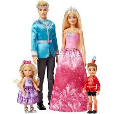 barbie dreamtopia 4 doll giftset