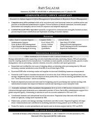 Administrative Assistant Skills Stunning Administrative Assistant Resume Office Sensational Templates