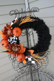 wreaths for front doorsFearsome Handmade Halloween Wreath Designs For Your Front Door