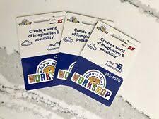 Build A Bear Workshop Gift Cards Ebay