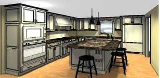 Kitchen Island Design Beauteous Kitchen Layout Island