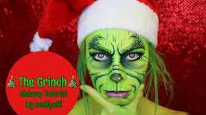 the grinch makeup tutorial merry from reallymili