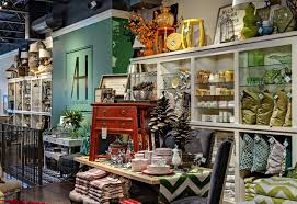 pillows and home accents at At Home and Co retail store in Edina