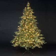 Northwest Pine Luxury Premium PE Pre-Lit Christmas Tree