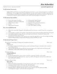 Football Coaching Resume Template Coaching Resume Template Football Coach From Samples Soccer