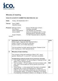 Minutes Of The Meeting 17 Professional Meeting Minutes Templates Pdf Word