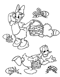 f0ff0c4f1faf0103e35b577f3a9a8ba1 cute easter colouring picture showing daisy duck and donald duck on free printable easter games for adults