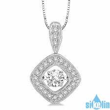 dancing stone 925 sterling silver pendant swarovski cz dsj6 w dancingstonejewelry