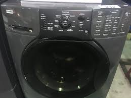 kenmore elite washer and dryer. image 2 : kenmore elite he3 charcoal grey front load washer \u0026 dryer set with laundry kenmore elite washer and dryer