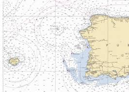 Ocean Charts West Coast Of Puerto Rico Marine Chart Cb_us25671_p406