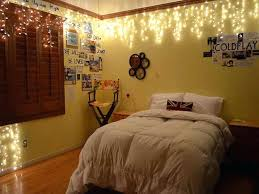 How To Hang String Lights From Ceiling Cool Christmas Lights In Room Bedroom Breathtaking How To Hang String