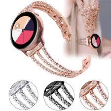 Review dây đeo kim loại 3 hàng cho đồng hồ thông minh samsung galaxy 22mm