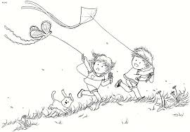 Small Picture Baisakhi kite flying coloring page Kids Website For Parents