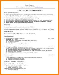 7+ Entry Level Accounting Resume No Experience | Business ...