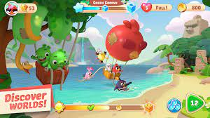 Mua Thẻ Cào 24h: Angry Birds Journey mở thử nghiệm ở một số quốc gia