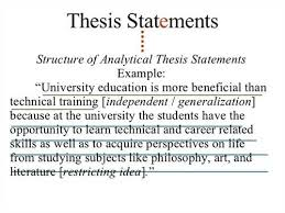 example of an analytical thesis statement examples of thesis essays