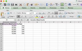Taxes Spreadsheet Doing Your Taxes 5 Excel Formulas You Must Know