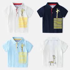 <b>Boys Tees</b> And <b>Polos Cartoon</b> Giraffe <b>Poloshirt Kids Boys</b> Summer ...
