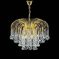 kolarz art deco crystal chandelier