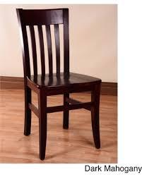 dark mahogany furniture. Gracewood Hollow Mantel Wood Dining Chairs (Set Of 2) (Mahogany - Mahogany Finish Dark Furniture