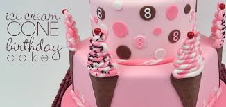 Ice Cream Cone Party Cake Just For Fun Party Cakes