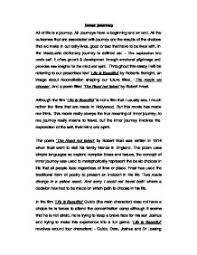 journey through life essay my journey through life essay example for studymoose com