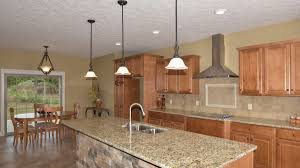 elegant kitchen of glendale model features merillat classic seneca ridge square in maple hazelnut color with kitchen cabinets maple ridge