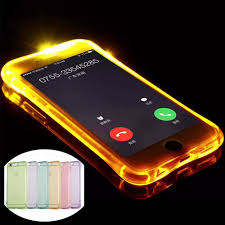 Iphone X Led Light Case Us 1 89 40 Off Kisscase Led Flash Light Case For Iphone 6s 6 7 5s 5 Glowing Soft Shockproof Silicone Back Cases For Iphone X 10 8 7 6s 6 Plus In