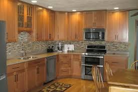 kitchen color schemes with oak cabinets idea desjar interior