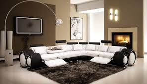 Black Leather Sectional Sofa With Recliner Black Leather Reclining Sectional Sofa 42 With Black Leather