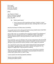 Business Letter Appeal Sampleee Health Insurance Letters Sample