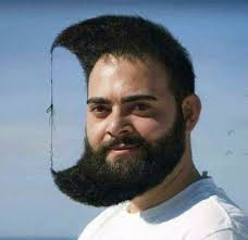 Funny Facial Hair Designs 39 Terrible Haircuts For Crazy People Sending This To