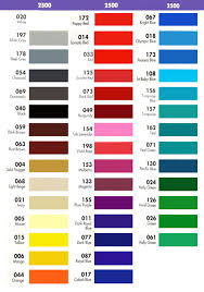 Fdc Color Chart Translucent Sign Vinyl Light Box Backlit Film Bdf Graphics