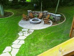 Rustic Style Fire Pits  Outdoor Spaces Spaces And BackyardBackyard Fire Pit Area
