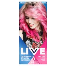 Schwarzkopf Live Ultra Brights Or Pastel Shocking Pink 093 Semi Permanent Hair Dye