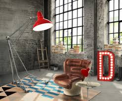 Home Design: Diana Floor Lamp By Delightfull E1458732824809 - Red Accents