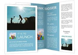 Fun Brochure Templates Family Camping Silhouette Of Mother And Son Having Fun Outdoors Near Tent Autumn Summer Outdoor Ac Brochure Template