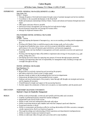 Resumes Hotelneral Manager Resume Samples Velvet Jobs Objective