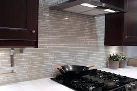 white glass mosaic tile backsplash light taupe linear glass mosaic tile modern kitchen white subway tile white glass mosaic