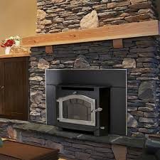 a sequoia wood fireplace insert made in the usa