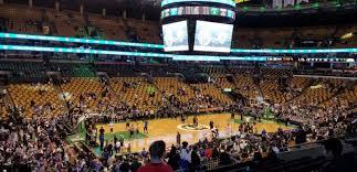 Td Garden Section Club 115 Row J Seat 15 Boston Celtics