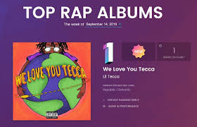 Lil Teccas We Love You Tecca Hits No 1 On The Top Rap