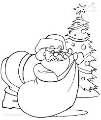 1001 Kleurplaten Kerst Kerstman Kleurplaat Kerstman