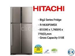hitachi refrigerator inverter. hitachi r-v630p3msx 510l inverter fridge | clickbd large image 0 refrigerator r