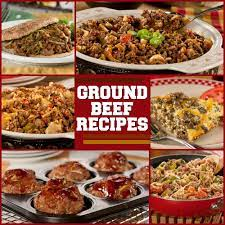 These healthy, easy ground beef recipes will give you creative ideas on how to turn a staple ingredient into a unique meal option. Recipes With Ground Beef Everydaydiabeticrecipes Com
