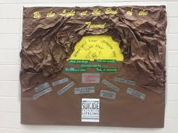 suicide prevention bulletin board counselor stuff  suicide prevention bulletin board