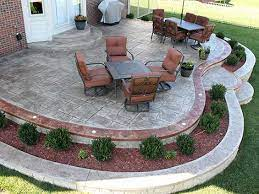 stamped concrete patio cost archives
